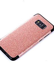 preiswerte -Hülle Für Samsung Galaxy S8 Plus S8 Beschichtung Rückseite Volltonfarbe Glänzender Schein Weich PU-Leder für S8 Plus S8 S7 edge S7 S6
