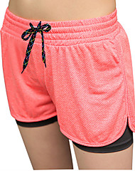 cheap -Women's Running Shorts - Fuchsia, Green, Pink Sports Shorts Yoga, Fitness, Gym Activewear Fast Dry, Breathability