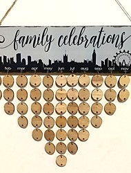 Недорогие -Особые случаи / Новый год деревянный Свадебные украшения Домики / Свадьба Все сезоны