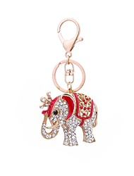 cheap -Keychain Jewelry Red Pink Animal Alloy Classic Casual Gift Daily Men's Women's