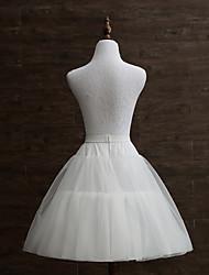 abordables -Mariage Scène Déshabillés Taffetas Tulle Avec Armature avec Anneau