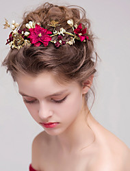 cheap -Imitation Pearl Alloy Headbands with Faux Pearl 1pc Wedding Special Occasion Headpiece