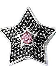 baratos -Jóias DIY 10 pçs Contas Strass Liga Roxo Rosa pérola Vermelho Azul Claro Azul Real Estrela Bead 0.45 cm faça você mesmo Colar Pulseiras
