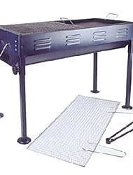 economico -Fornello da campeggio Attrezzi cucina all'aperto Isolamento termico Indossabile Acciaio inossidabile per Campeggio