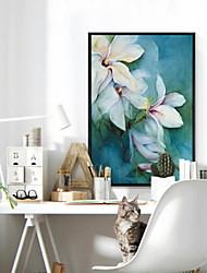abordables -Peinture à l'huile encadrée Abstrait Peinture a l'huile Art mural, Alliage d'aluminium Matériel Avec Cadre Décoration d'intérieur Cadre