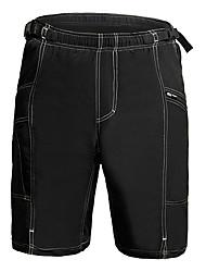 abordables -Jaggad Pantalones Acolchados de Ciclismo Hombre Bicicleta Pantalones cortos para MTB Pantalones cortos holgados Prendas de abajo Ropa
