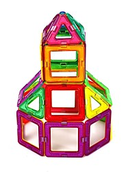 Недорогие -Магнитный конструктор Декомпрессионные игрушки Ручная работа трансформируемый Детские Подарок Мультяшная тематика