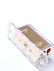 cheap -4-Way Car Audio Stereo Amp Power/Ground Cable Splitter Distribution Block 4ga