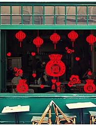 economico -Vacanze Adesivi murali Adesivi 3D da parete Adesivi decorativi da parete,Carta Decorazioni per la casa Sticker murale Parete Vetro / Bagno
