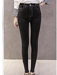 cheap -Women's Modern Style Cotton Medium Print Legging,Print Black