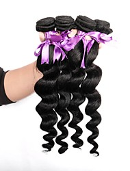 cheap -Brazilian Hair Unprocessed Loose Wave Human Hair Weaves Hot Sale
