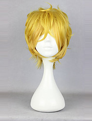 cheap -Cosplay Wigs Lolita Yellow Classical Lolita Wig 35cm CM Cosplay Wigs Solid Colored Wig For