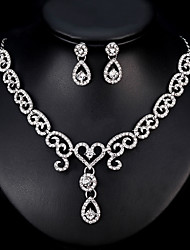 Недорогие -Жен. Комплект ювелирных изделий - европейский, Мода Включают Серебряный Назначение Свадьба / Повседневные