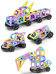 cheap -Magnetic Blocks Building Blocks 488pcs Warrior Round Car Transformable Classic & Timeless Chic & Modern Animals Architecture Vehicles Toy