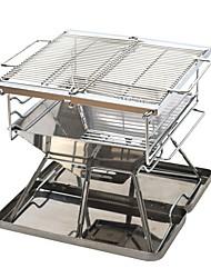 economico -Fornello da campeggio Attrezzi cucina all'aperto Ripiegabile Acciaio inossidabile per Campeggio