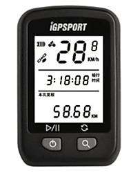 cheap -iGPSPORT® IGS20 Bike Computer/Bicycle Computer GPS Waterproof ANT+ Bluetooth Av - Average Speed PC Max - Maximum Speed Road Cycling