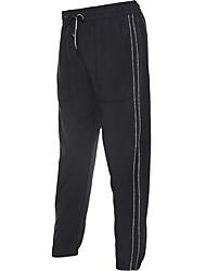 baratos -Mulheres Leggings de Corrida Secagem Rápida Meia-calça Corrida Algodão Branco / Preto / Cinzento M / L / XL