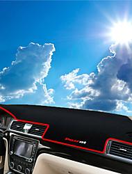 abordables -Automotor Estera del tablero de instrumentos Esterillas de interior para coche Para Volkswagen 2013 2014 2015 2011 2012 Passat