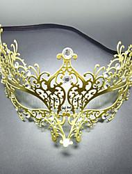 economico -Carnevale Maschera mascherata Maschera veneziana Dorato Metallo Accessori Cosplay Mascherata