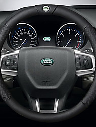 cheap -Automotive Steering Wheel Covers(Leather)For Land Rover All years Evoque Discovery Sport Freelander 2