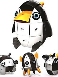 Недорогие -Магнитные плитки / Конструкторы 74pcs Классика / Пингвин трансформируемый / Милый Мальчики Подарок