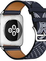 economico -Cinturino per orologio  per Apple Watch Series 3 / 2 / 1 Apple Chiusura classica Pelle Custodia con cinturino a strappo
