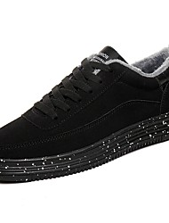 cheap -Men's Shoes Fleece Spring Fall Comfort Sneakers for Casual Black/White Blue Gray Black