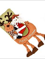 Недорогие -1шт Рождество Рождественские чулки,Праздничные украшения 50
