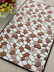 baratos -tapetes de banho modernos retângulo de poliéster / viscose