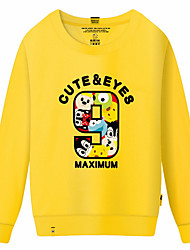 cheap -Women's Classic & Timeless Sweatshirt - Multi Color, Print
