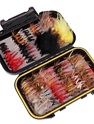cheap -Fishing Accessories Easy Install Easy to Use Light and Convenient Carbon Steel Feathers Jigging Sea Fishing Fly Fishing Bait Casting Ice