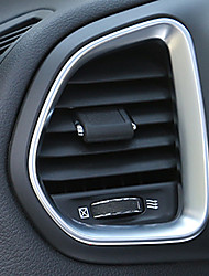 cheap -Automotive Car Air Conditioner Vent Covers DIY Car Interiors For Jeep Renegade