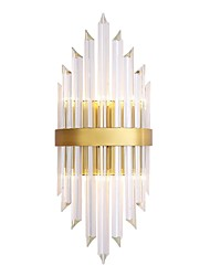cheap -Crystal Wall Lamps & Sconces For Living Room Study Room/Office Metal Wall Light IP20 110-120V 220-240V 3W