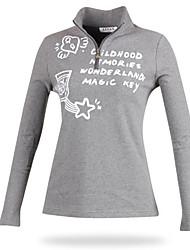 Недорогие -Жен. Гольф Куртка на молнии С защитой от ветра Пригодно для носки Воздухопроницаемость Гольф На открытом воздухе