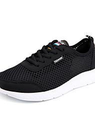 abordables -Homme Chaussures Polyuréthane Printemps / Automne Confort Chaussures d'Athlétisme Noir / Gris / Bleu