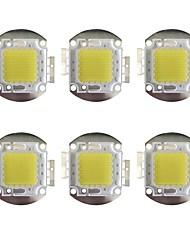 Недорогие -GuoRenGuangDian 6шт 12000 lm Аксессуары для ламп LED чип Латунь 100 W