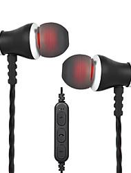 baratos -Cwxuan No ouvido Sem Fio Fones Magnetic planar Aluminum Alloy / Plástico Celular Fone de ouvido Atração de ímã / Com controle de volume /