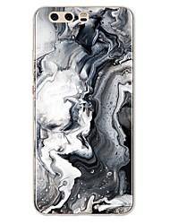 Недорогие -Кейс для Назначение Huawei P9 / Huawei P9 Lite / Huawei P8 P10 Lite С узором Кейс на заднюю панель Полосы / волосы / Мрамор Мягкий ТПУ для P10 Plus / P10 Lite / P10 / Huawei P9 Plus