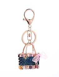 cheap -Keychain Jewelry Red Blue Handbag Alloy Casual Korean Gift Daily Women's