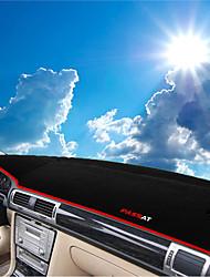 abordables -Automotor Estera del tablero de instrumentos Esterillas de interior para coche Para Volkswagen 2011 2009 2010 Passat
