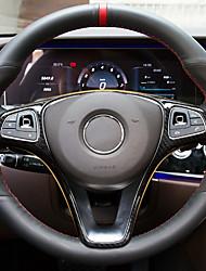 billige -bil ratt indretning ramme diy bil interiør for mercedes-benz alle år e klasse c klasse c200l e300l glc260 carbon fiber