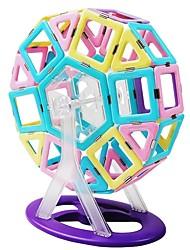 Недорогие -Магнитный конструктор / Конструкторы 118pcs Классика трансформируемый Мальчики Подарок