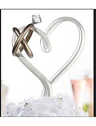 Недорогие -Украшения для торта Сказка Романтика Мода Художественные/Ретро ABS смолы Свадьба День рождения с Стразы 1 Картонная коробка