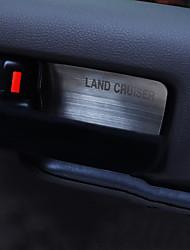 cheap -Automotive Door Armrest Protective Cover DIY Car Interiors For Toyota 2008 2009 2010 2011 2012 2013 2014 2015 2016 LAND CRUISER PRADO