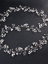 economico -Lega Con diamantini Cristalli Perle di imitazione Metallico 1pc Matrimonio Occasioni speciali Copricapo