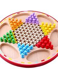 preiswerte -Schachspiel Spielzeuge Kreisförmig Klassisch Eltern-Kind-Interaktion Erwachsene Stücke