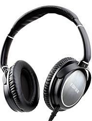 baratos -EDIFIER H850 Bandana Com Fio Fones Dinâmico Metal Games Fone de ouvido Com Microfone Fone de ouvido
