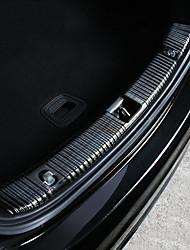 cheap -Automotive Trunk Door Scuff Plates DIY Car Interiors For Mercedes-Benz All years E300L E200L E Class