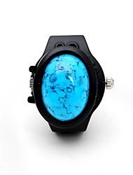 Недорогие -Для пары Часы-кольцо Китайский С гравировкой / Повседневные часы / Cool сплав Группа Роскошь / На каждый день / Мода Черный