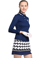 cheap -Women's Golf Clothing Suits Fast Dry Windproof Wearable Breathability Golf Outdoor Exercise